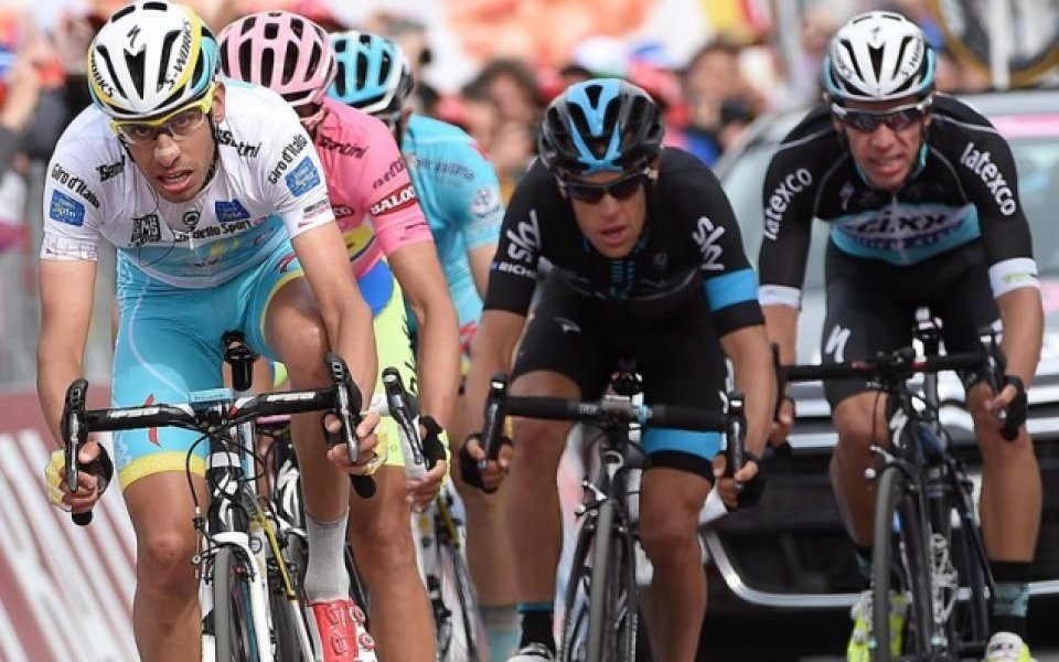 """Отборът """"Мичълтън-Скот"""" се оттегли преди десетия етап от колоездачната обиколка"""