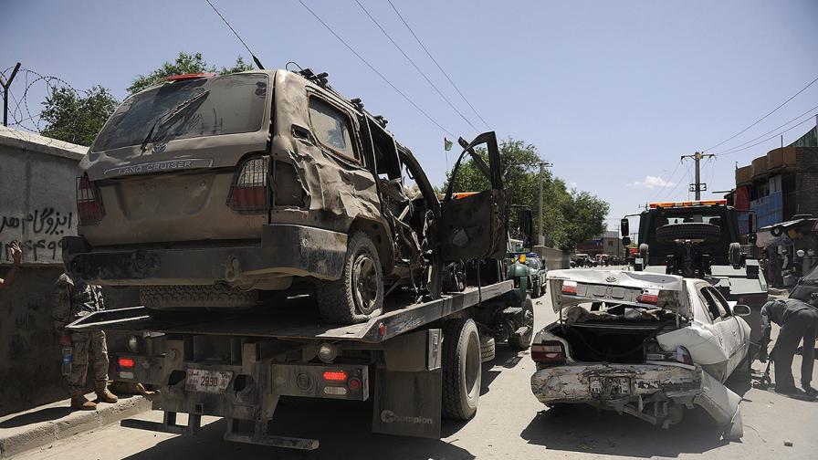 Няма пострадали българи при атентата в Кабул