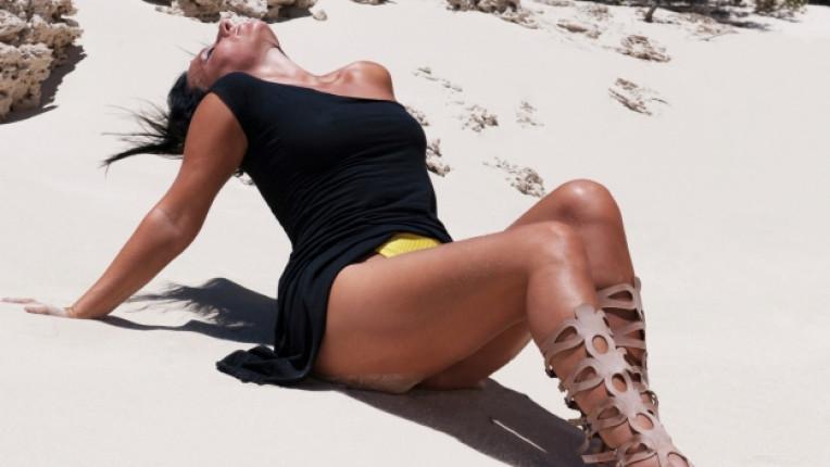 сандали жена плаж