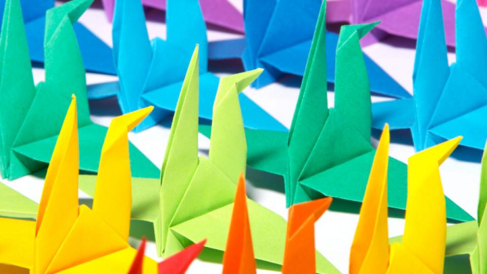 Как да си направим оригами кутийка (видео)
