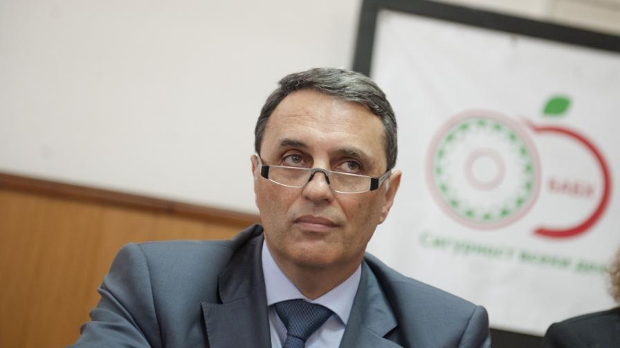 Изпълнителният директор на БАБХ проф. Пламен Моллов