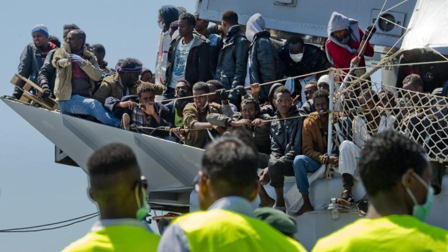 Италиански съд прати трафикант на мигранти в затвора до живот