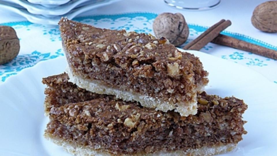 Ароматен кекс с индийско орехче