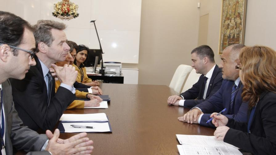 Борисов се срещна с представители на МВФ и Световната банка