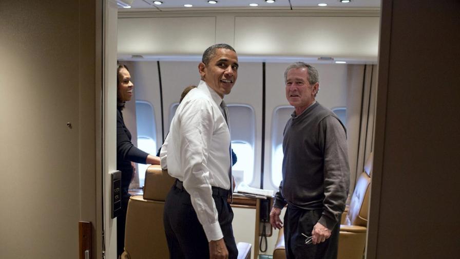 Буш-син и Обама