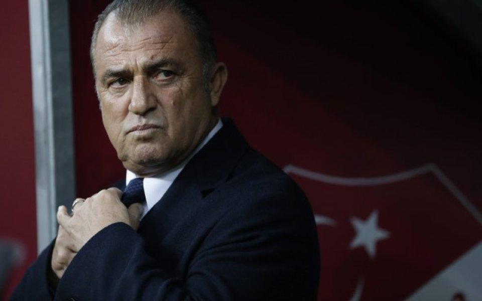 Старши треньорът на Галатасарай - Фатих Терим смята, че неговият