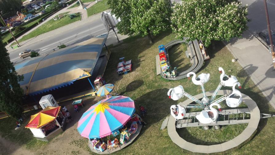 КЗП проверява увеселителните съоръжения за деца в София