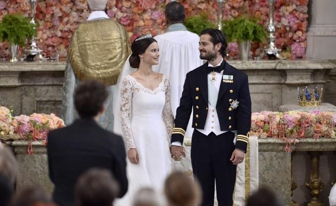 Шведският принц Карл Филип се ожени за бившия модел София