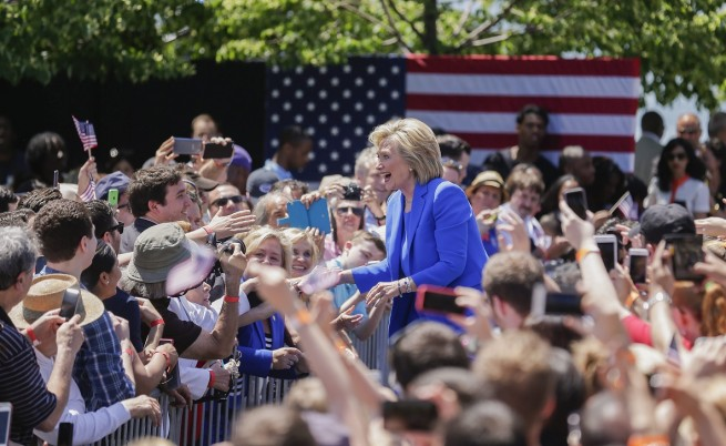 Кейти Пери и Елтън Джон пеят за Хилъри Клинтън