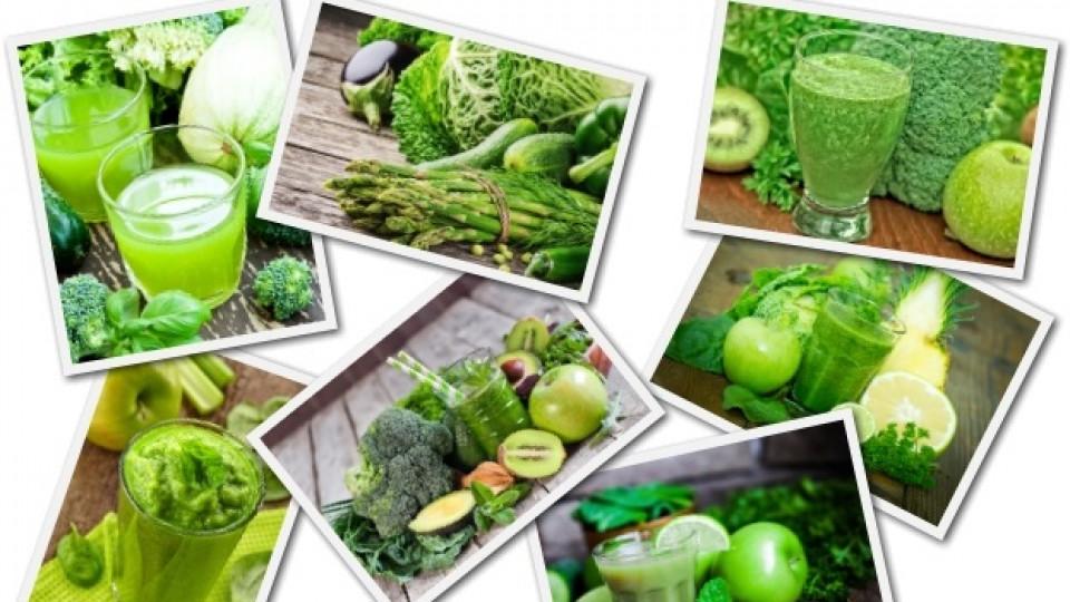 Код зелено: 5 зелени храни за здраве