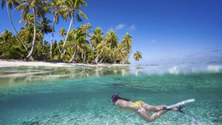 гмуркане екзотика рай плаж море океан