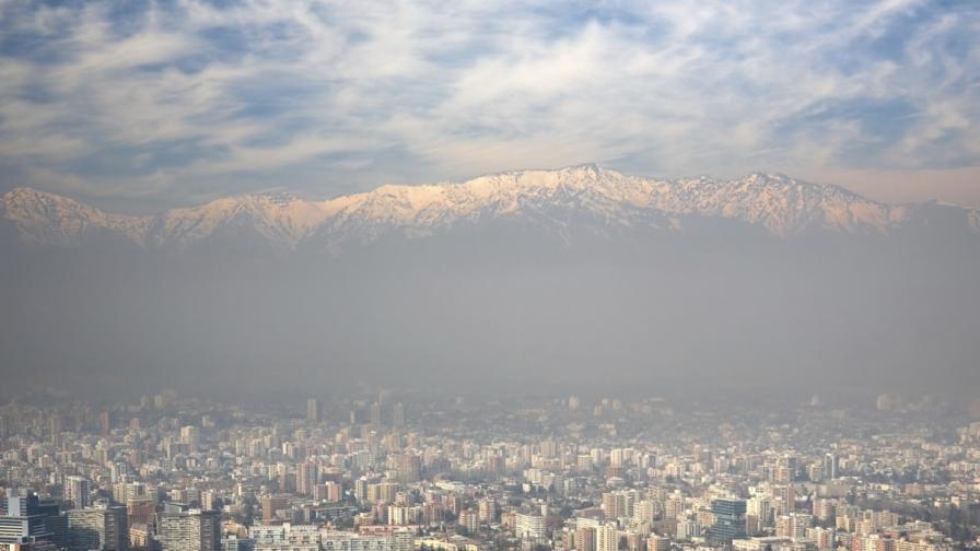 В Сантяго обявиха екологично извънредно положение