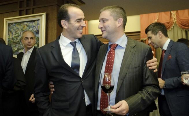 Иван Искров и Владислав Горанов