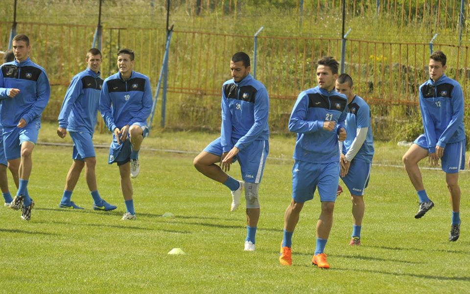 Левски тренира за последно преди старта на контролите