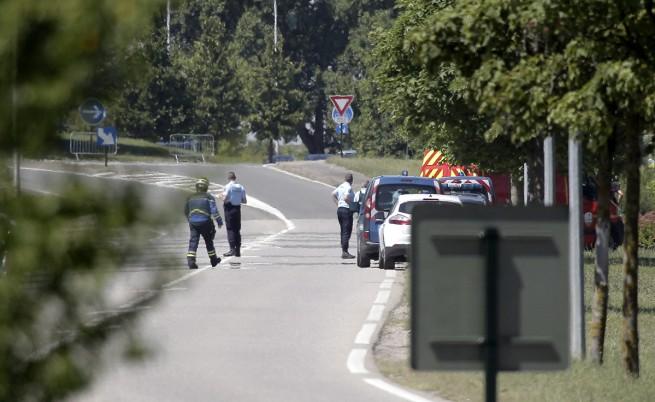 Атентат във фабрика край Лион, има жертви