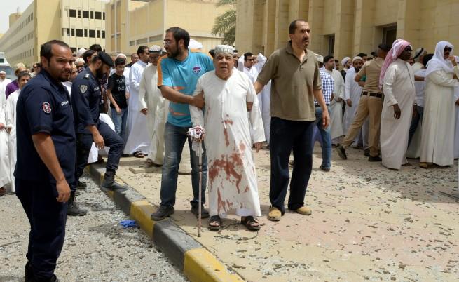 Пострадал при атаката в Кувейт
