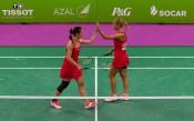 Стефани Стоева и Габриела Стоева стартираха с победа на европейското