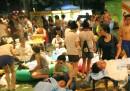 Над 500 с изгаряния при взрив в тайванска дискотека