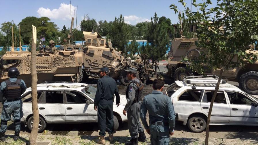 Мощна експлозия разтърси Кабул