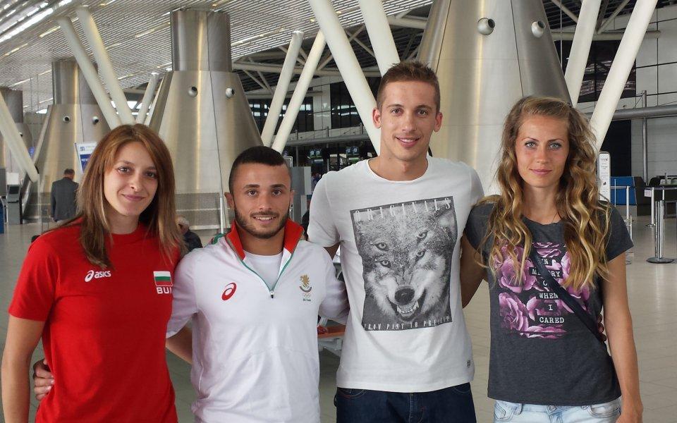 Четирима българи заминаха днес за Уни2015 в Корея