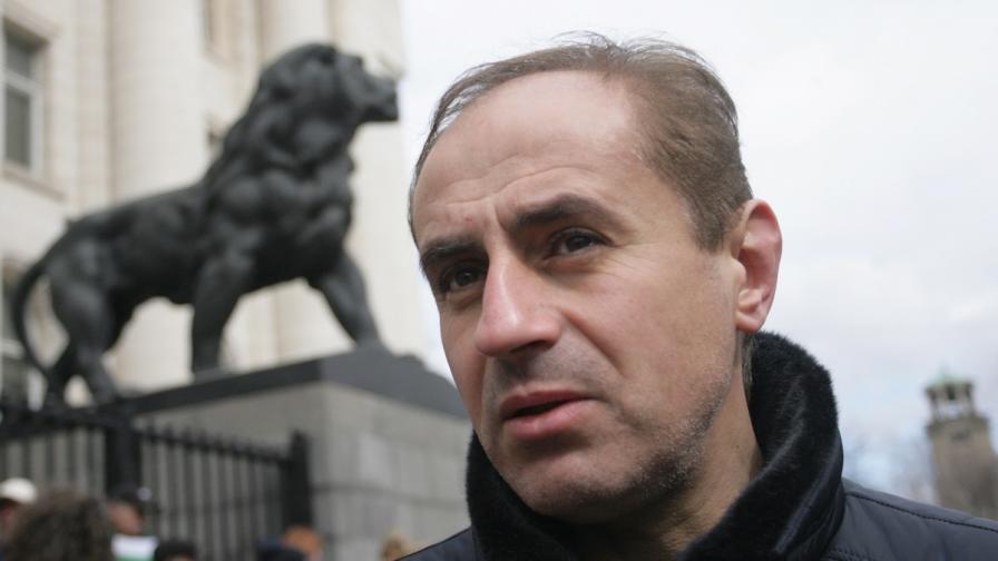 Кметът на Кюстендил Петър Паунов