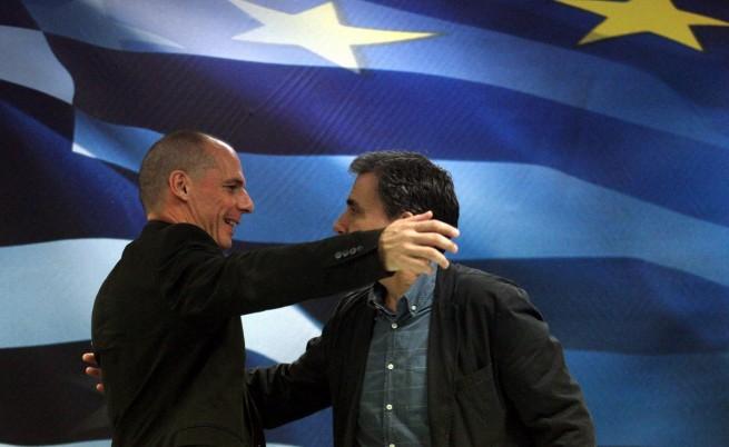 Евклидис Цакалотос и Янис Варуфакис