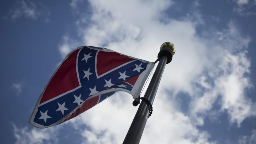 В Южна Каролина махат знамето на Конфедерацията
