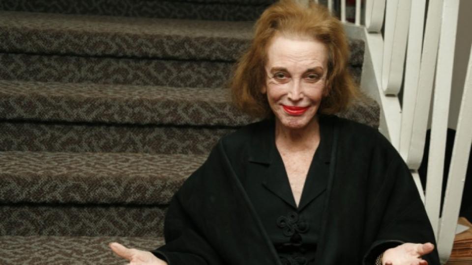 Хелън Гърли Браун на откриването на Дни на израелското кино, Ню Йорк, февруари 2006 г.