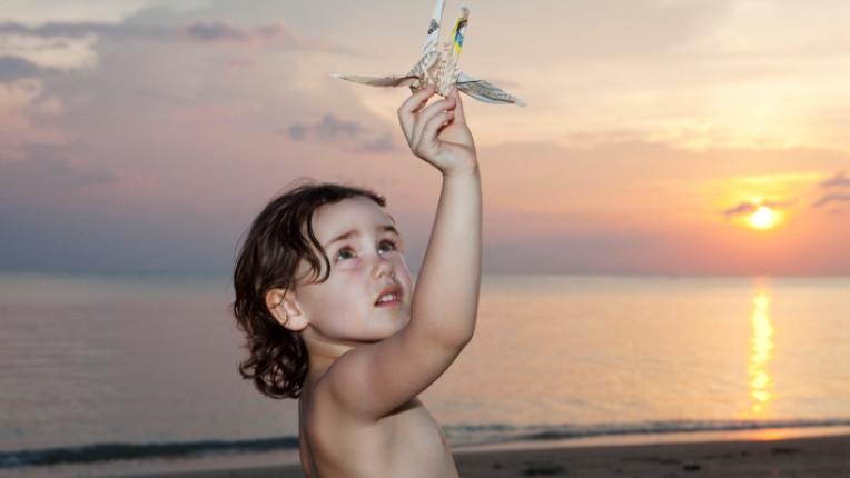 деца дете лято