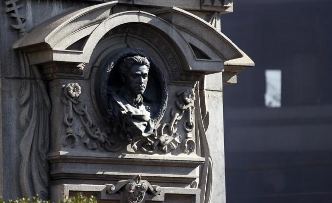 Паметникът на Васил Левски в София