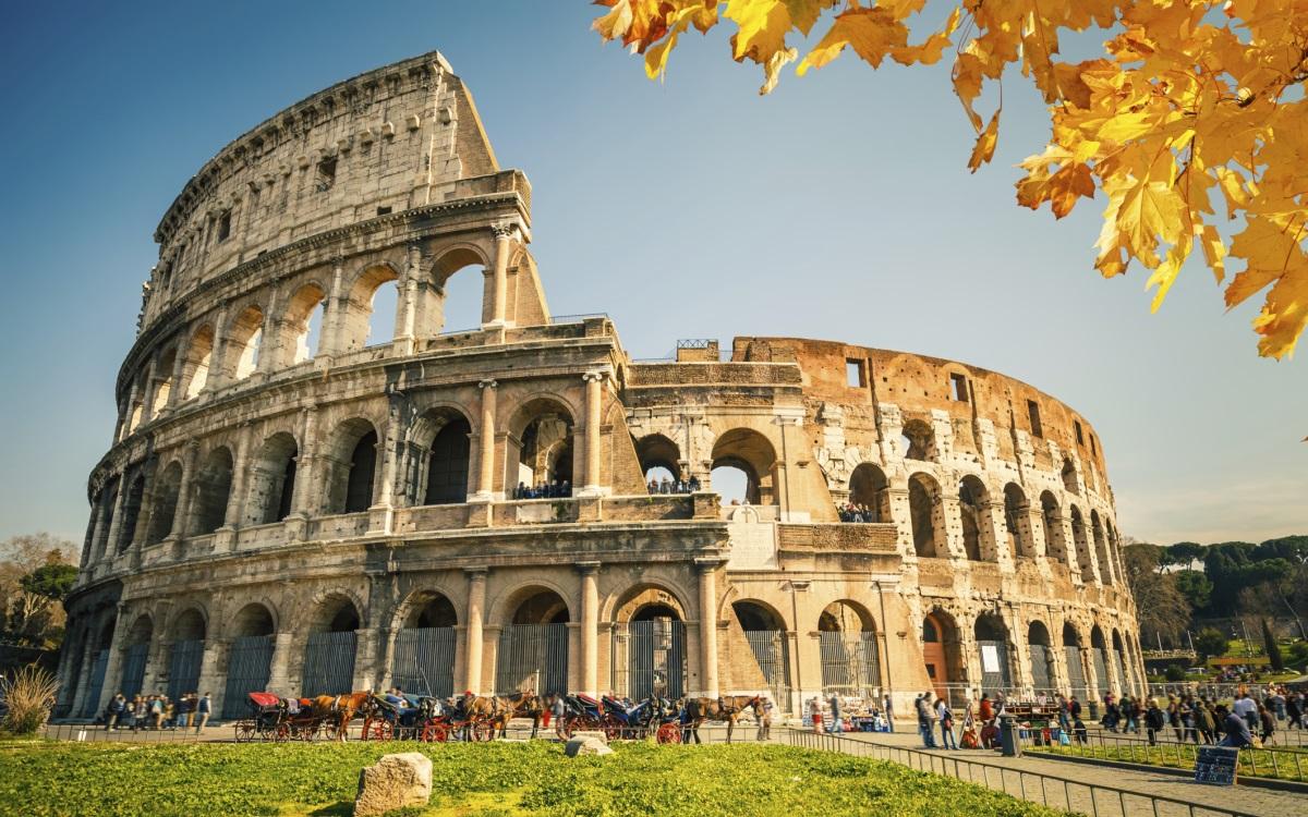 <p><strong>№3 Рим, Италия</strong></p>
