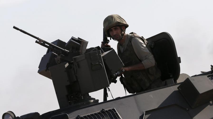 Турски войник бе убит при стрелба от Сирия