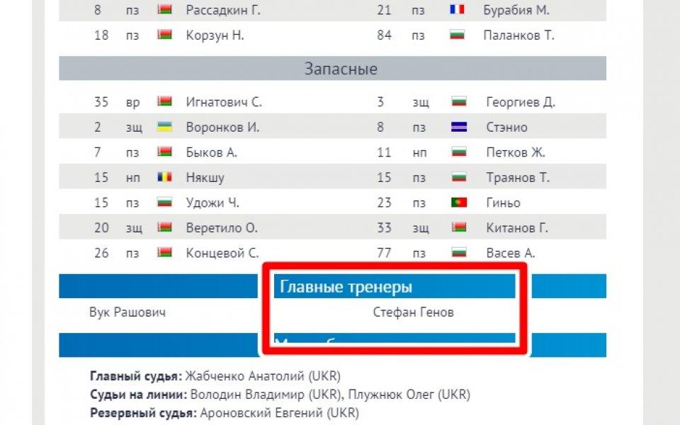 В Динамо не знаят кой е треньор на Черно море