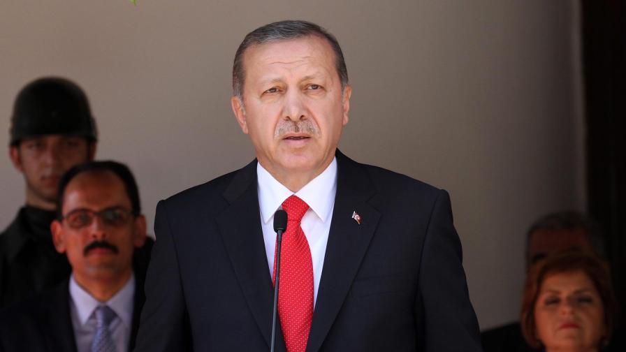 Турският президент Реджеп Тайип Ердоган