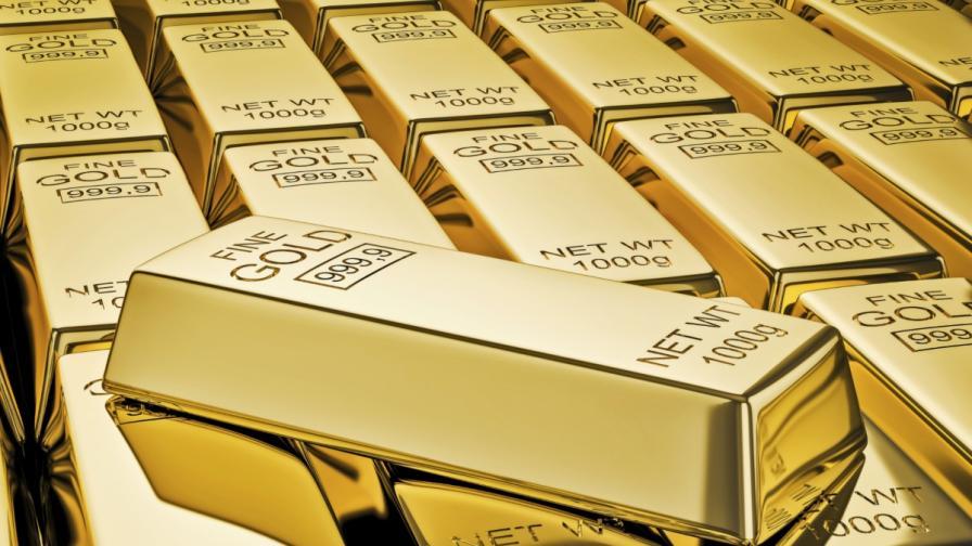 Цената на златото с 5-годишен минимум