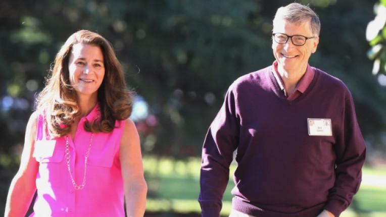 Бил Гейтс и съпругата му Мелинда