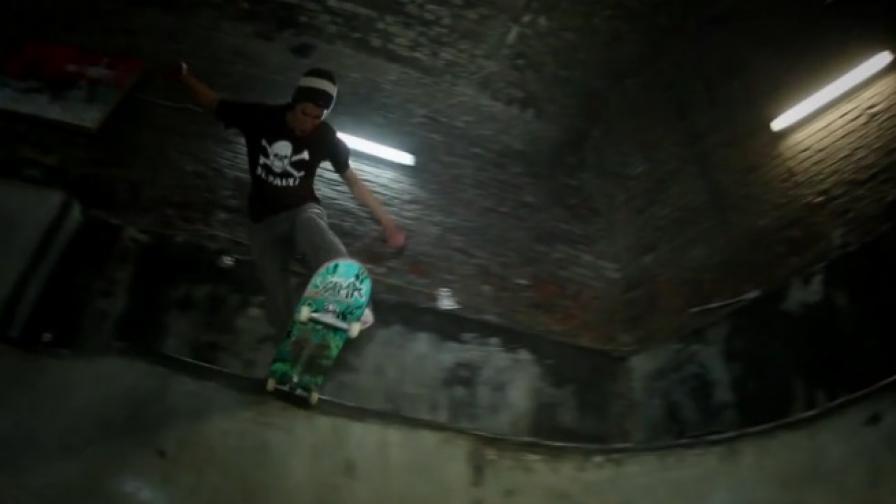 Подземен скейтпарк във Виена (видео)