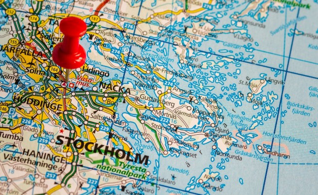 Голям взрив избухна в центъра на Стокхолм