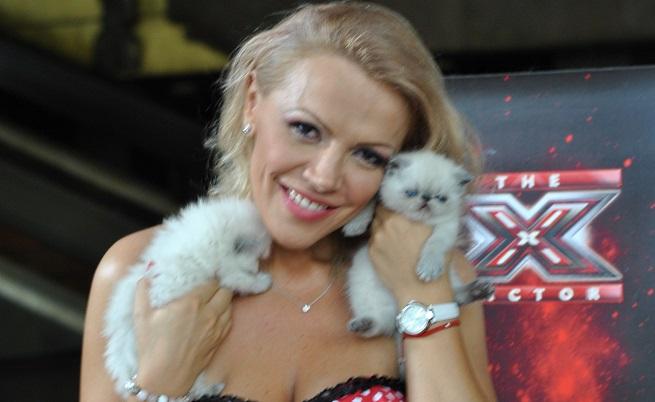 Дама с котки-шампиони, мечтае за трофея на X Factor