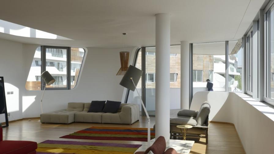 Модерен уют: Апартаменти от Заха Хадид