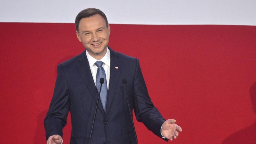Новият полски президент иска войски на НАТО за постоянно
