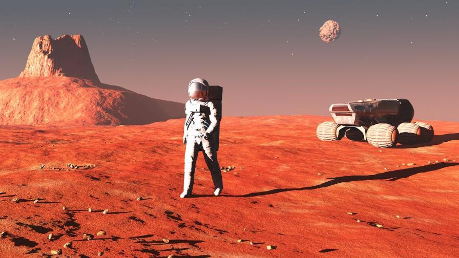Мъж е готов да изпрати жена си с еднопосочен билет до Марс