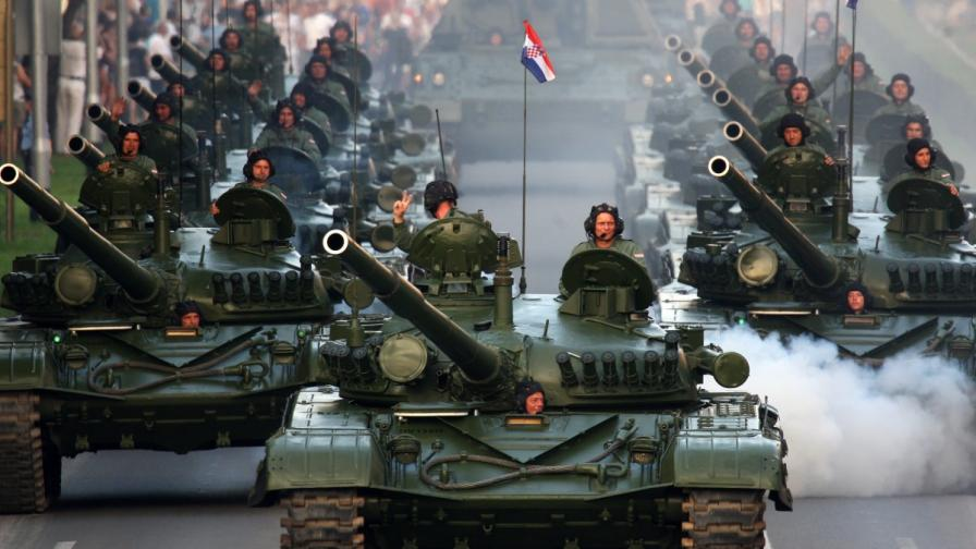 """Хърватия отбелязва 20 години от операция """"Буря"""""""