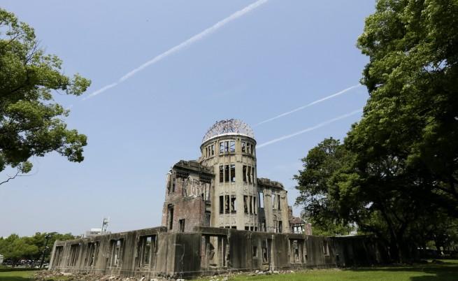Атомният купол в Парка на мира в Хирошима