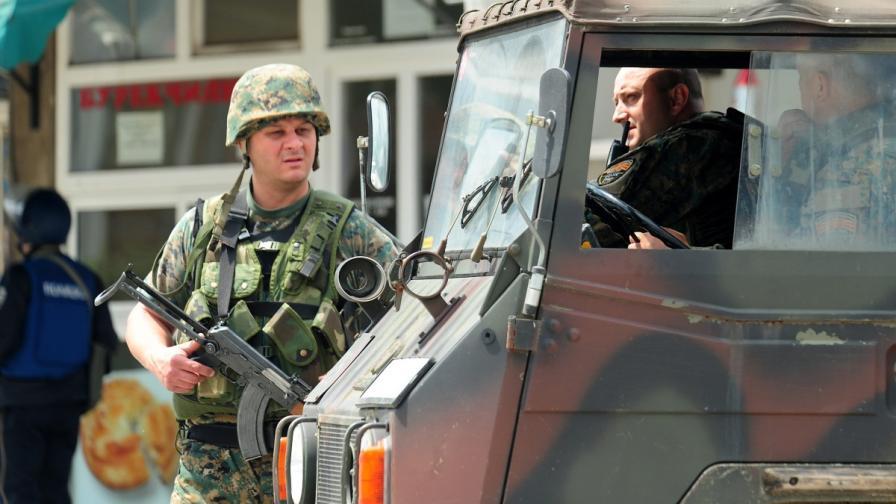 Нова акция за задържане на членове на ИД в Македония