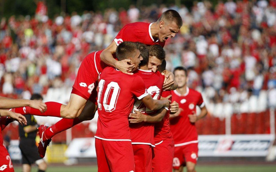 Първа победа, първи точки и първи емоции за ЦСКА във В група