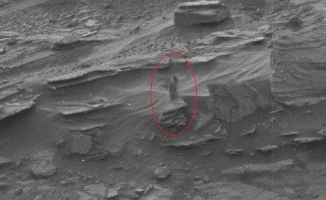 Изображението е приближена част от снимка на НАСА