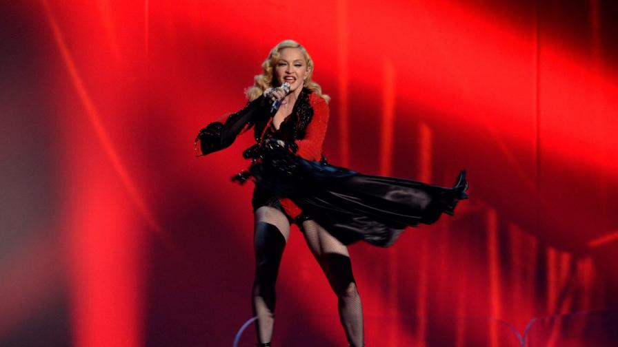 Мадона на сцената