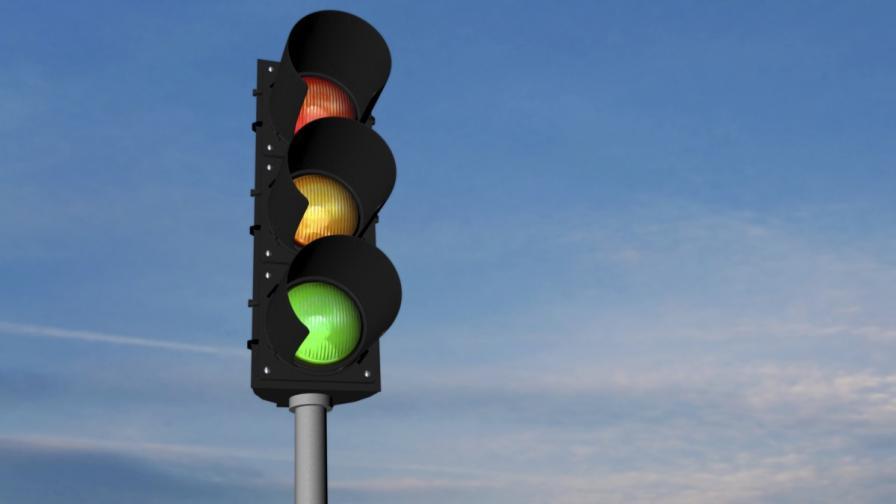 <p>Светофар на скоростна отсечка в София предизвика недоволство</p>