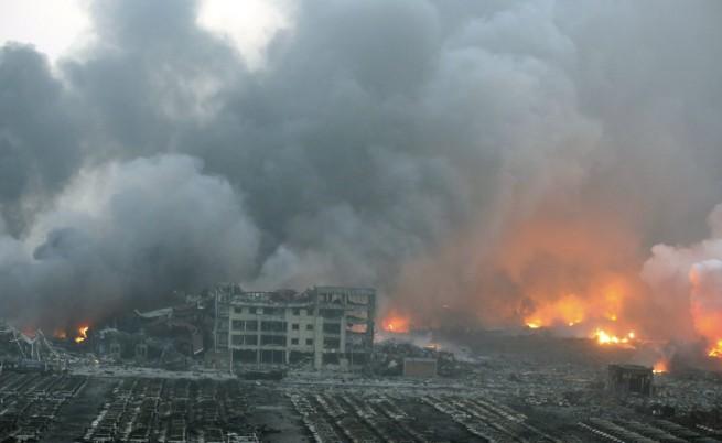 Нови експлозии в Тиендзин, потвърдиха за токсичен натриев цианид